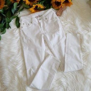 True Religion Moto Curvy Skinny Jean